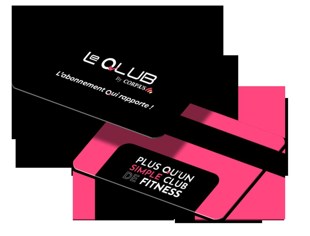 La carte-Le Qlub by Corpeus